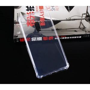 Силиконовый глянцевый транспарентный чехол с усиленными углами для Xiaomi Mi Mix