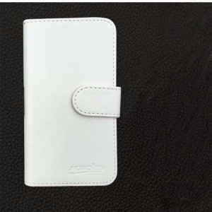 Чехол горизонтальная книжка на клеевой основе с отсеком для карт на магнитной защелке для Philips X586