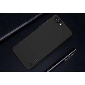 Пластиковый непрозрачный матовый нескользящий премиум чехол с повышенной шероховатостью для Huawei Honor View 10