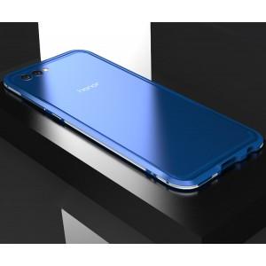 Металлический округлый премиум бампер сборного типа на винтах для Huawei Honor View 10