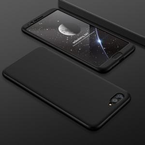 Пластиковый непрозрачный матовый чехол сборного типа с улучшенной защитой элементов корпуса для Huawei Honor View 10