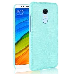 Чехол накладка текстурная отделка Кожа для Xiaomi RedMi 5 Plus