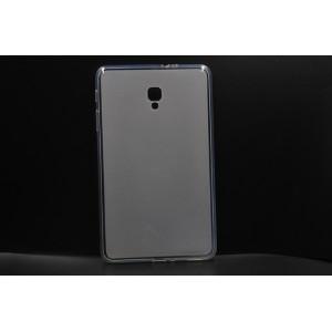Силиконовый матовый полупрозрачный чехол для Samsung Galaxy Tab A 8.0 (2017) Белый