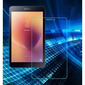 Ультратонкое износоустойчивое сколостойкое олеофобное защитное стекло-пленка для Samsung Galaxy Tab A 8.0 (2017)