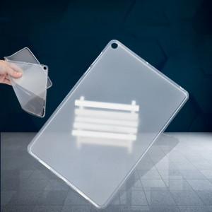 Силиконовый матовый полупрозрачный чехол для Asus ZenPad 3S 10 LTE Белый