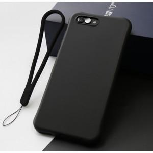 Противоударный силиконовый матовый непрозрачный чехол с нескользящим премиум софт-тач покрытием для Huawei Honor View 10