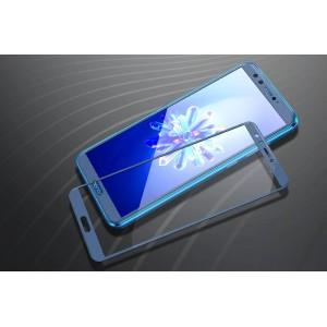 Полноэкранное ультратонкое износоустойчивое сколостойкое олеофобное защитное стекло-пленка для Huawei Honor 9 Lite