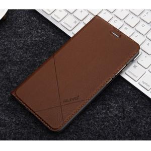 Чехол горизонтальная книжка подставка текстура Линии на пластиковой основе с отсеком для карт для Huawei Honor 9 Lite