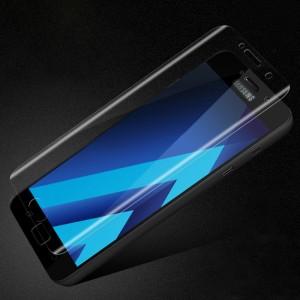 Экстразащитная термопластичная саморегенерирующаяся уретановая пленка на плоскую и изогнутые поверхности экрана для Samsung Galaxy A5 (2017)