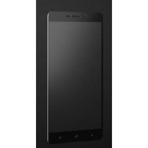 Полноэкранное ультратонкое износоустойчивое сколостойкое олеофобное защитное стекло-пленка для Xiaomi RedMi 4A  Черный