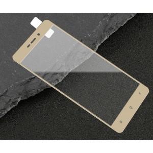 Полноэкранное ультратонкое износоустойчивое сколостойкое олеофобное защитное стекло-пленка для Xiaomi Redmi 3S