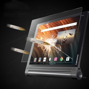 Ультратонкое износоустойчивое сколостойкое олеофобное защитное стекло-пленка для Lenovo Yoga Tab 3 Plus