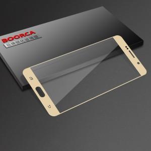 Полноэкранное ультратонкое износоустойчивое сколостойкое олеофобное защитное стекло-пленка для  Samsung Galaxy Note 5