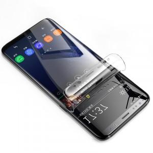 Экстразащитная термопластичная уретановая пленка на плоскую и изогнутые поверхности экрана для Samsung Galaxy S9 Plus