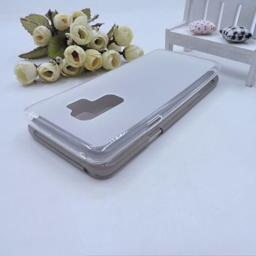 Силиконовый матовый полупрозрачный чехол для Samsung Galaxy S9 Plus