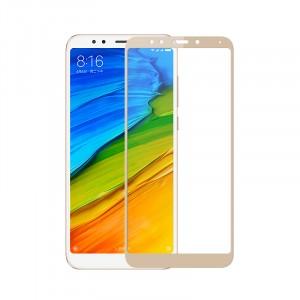 Полноэкранное ультратонкое износоустойчивое сколостойкое олеофобное защитное стекло-пленка для Xiaomi RedMi 5 Plus