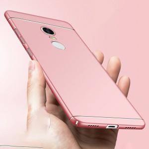 Пластиковый непрозрачный чехол с улучшенной защитой торцов для Xiaomi RedMi 5 Plus