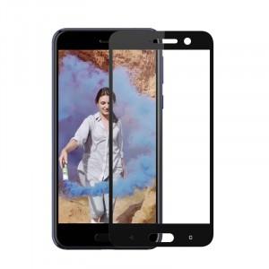 Полноэкранное ультратонкое износоустойчивое сколостойкое олеофобное защитное стекло-пленка для HTC U Play
