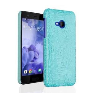 Чехол накладка текстурная отделка Кожа для HTC U Play
