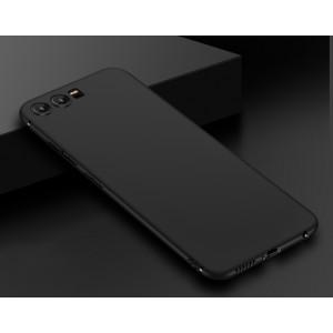 Силиконовый матовый непрозрачный чехол для Huawei P10