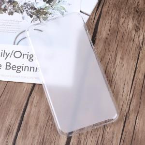 Силиконовый матовый полупрозрачный чехол для BQ Amsterdam Белый