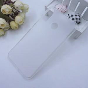 Силиконовый матовый полупрозрачный чехол для ASUS ZenFone 5 ZE620KL Белый