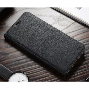 Чехол горизонтальная книжка подставка текстура Дерево на пластиковой основе с отсеком для карт для Samsung Galaxy S9 Plus