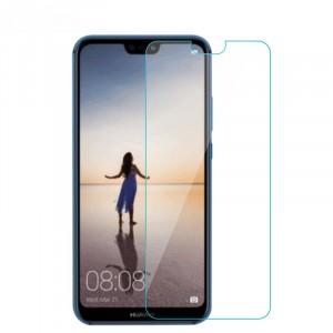 Ультратонкое износоустойчивое сколостойкое олеофобное защитное стекло-пленка для Huawei P20 Lite