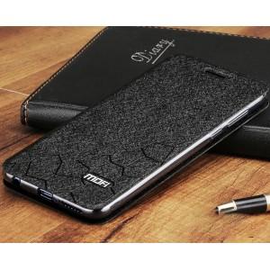 Чехол горизонтальная книжка подставка текстура Соты на силиконовой основе для Huawei P20 Lite