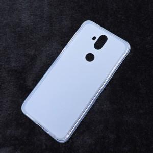Силиконовый матовый полупрозрачный чехол для ASUS ZenFone 5 Lite  Белый