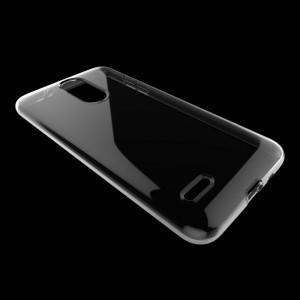 Силиконовый глянцевый транспарентный чехол для LG K9