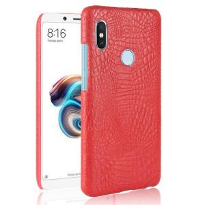 Чехол накладка текстурная отделка Кожа для Xiaomi RedMi Note 5/5 Pro Красный
