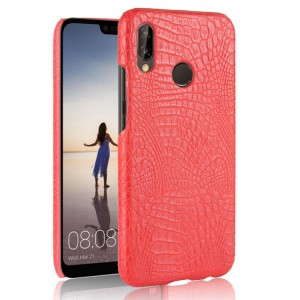 Чехол накладка текстурная отделка Кожа для Huawei P20 Lite