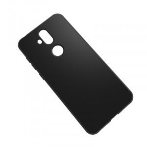 Силиконовый матовый непрозрачный чехол для ASUS ZenFone 5 Lite