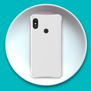 Силиконовый матовый непрозрачный чехол с нескользящим софт-тач покрытием и усиленными углами для Xiaomi RedMi Note 5/5 Pro