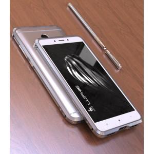 Металлический округлый бампер сборного типа на винтах для Xiaomi RedMi Note 4X