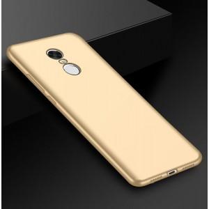 Силиконовый матовый непрозрачный чехол для Xiaomi RedMi Note 4X