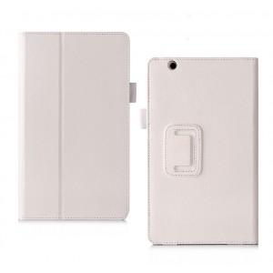 Глянцевый водоотталкивающий сегментарный чехол книжка подставка с рамочной защитой экрана, крепежом для стилуса, отсеком для карт и поддержкой кисти для Huawei MediaPad M5 8.4