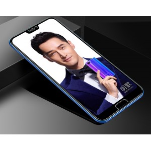 Ультратонкое износоустойчивое сколостойкое олеофобное защитное стекло-пленка для Huawei Honor 10