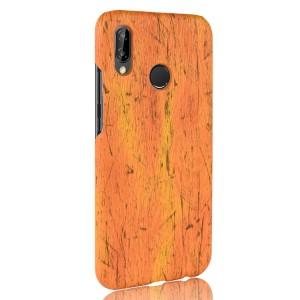 Пластиковый непрозрачный матовый чехол с текстурным покрытием Дерево для Huawei P20 Lite