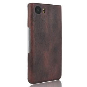Пластиковый непрозрачный матовый чехол с текстурным покрытием Дерево для BlackBerry KEYone