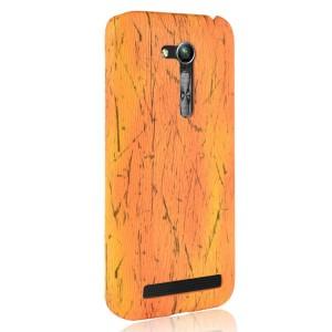 Пластиковый непрозрачный матовый чехол с текстурным покрытием Дерево для ASUS ZenFone Go 4.5 ZB452KG