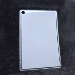 Силиконовый матовый полупрозрачный чехол для Huawei MediaPad M5 10.8 Белый