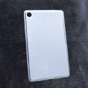 Силиконовый матовый полупрозрачный чехол для Huawei MediaPad M5 8.4