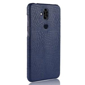 Чехол накладка текстурная отделка Кожа для ASUS ZenFone 5 Lite  Синий