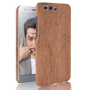 Пластиковый непрозрачный матовый чехол с текстурным покрытием Дерево для Huawei Honor 9