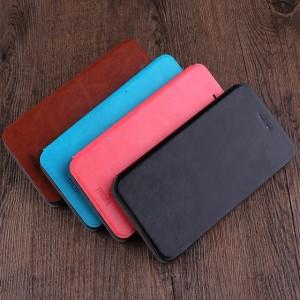 Чехол горизонтальная книжка подставка на силиконовой основе для Xiaomi RedMi Note 5/5 Pro