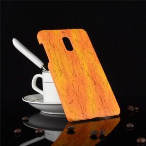 Пластиковый непрозрачный матовый чехол с текстурным покрытием Дерево для Nokia 6