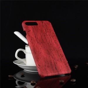 Пластиковый непрозрачный матовый чехол с текстурным покрытием Дерево для Iphone 7/8