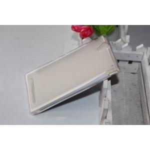 Силиконовый матовый полупрозрачный чехол для Sony Xperia T2 Ultra (Dual)